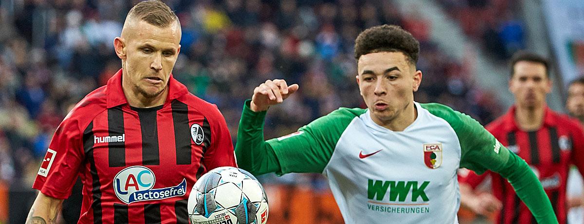 SC Freiburg - FC Augsburg Bundesliga 2021