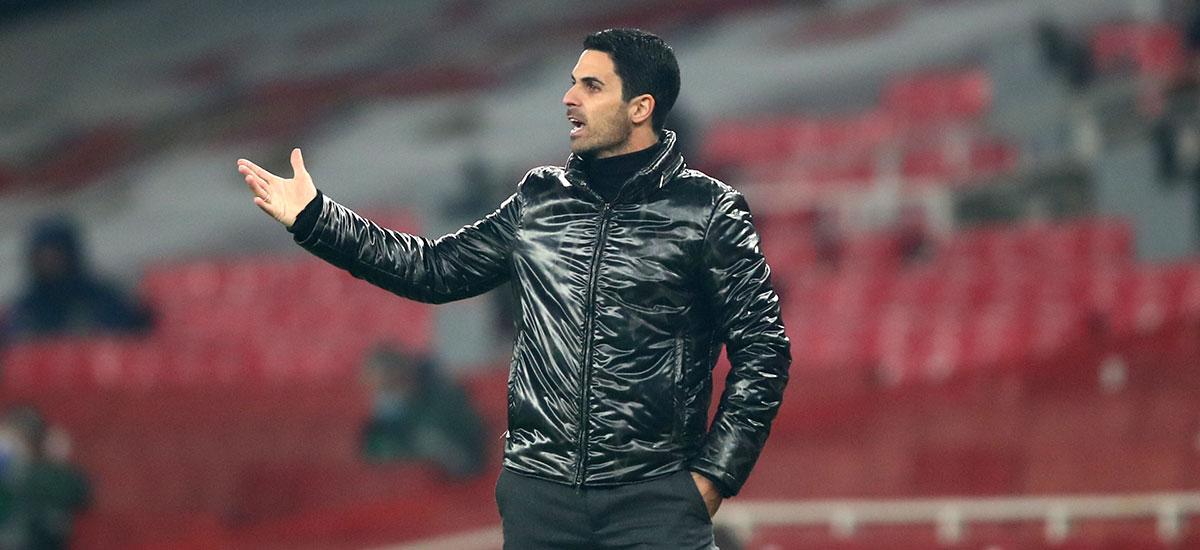 Erlebt schwere Zeiten beim FC Arsenal - Coach Mikel Arteta