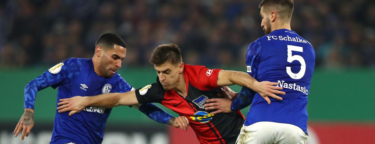 Hertha BSC - Schalke 04: Wende oder Ende mit Gross