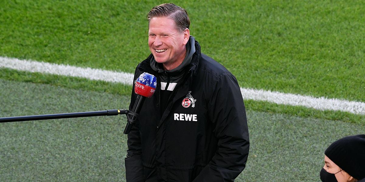 Hat seine Mannschaft in dieser Saison auswärts gut eingestellt - FC-Trainer Markus Gisdol