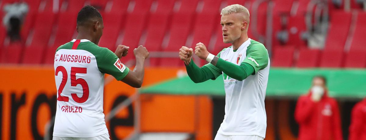 1. FC Köln - FC Augsburg: Kein Ende der Remis-Flut in Sicht