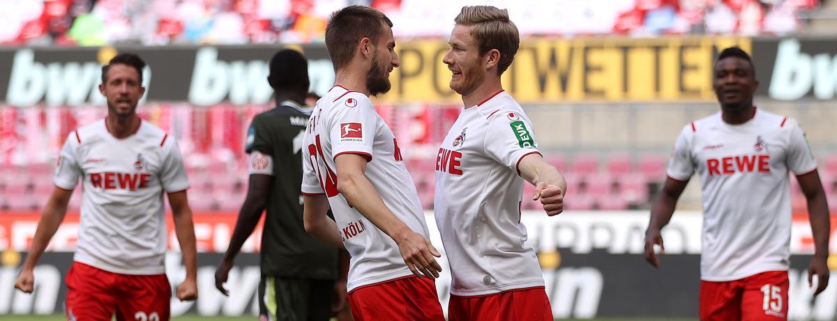 FSV Mainz 05 - 1. FC Köln: Big Point im Keller zu vergeben