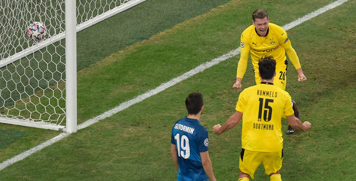 Machten am letzten Spieltag den Gruppensieg perfekt - Lukasz Piszczek und seine Borussia