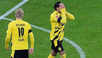 Meisterschaft in der Bundesliga: Noch ist es eng an der Tabellenspitze …