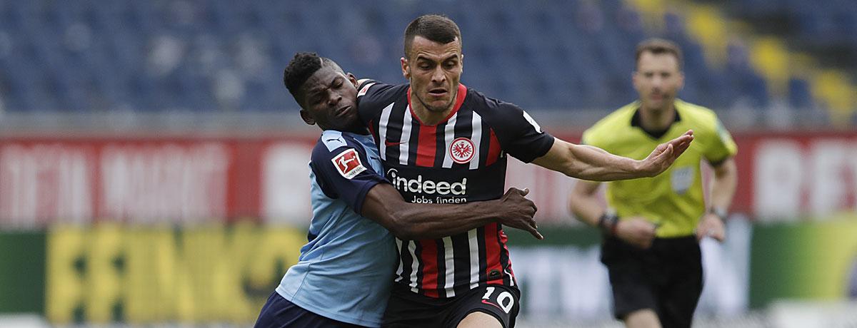 Eintracht Frankfurt - Gladbach Bundesliga