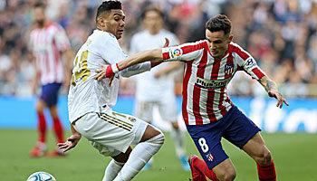Atletico Madrid - Real Madrid: Siegpflicht für die Königlichen