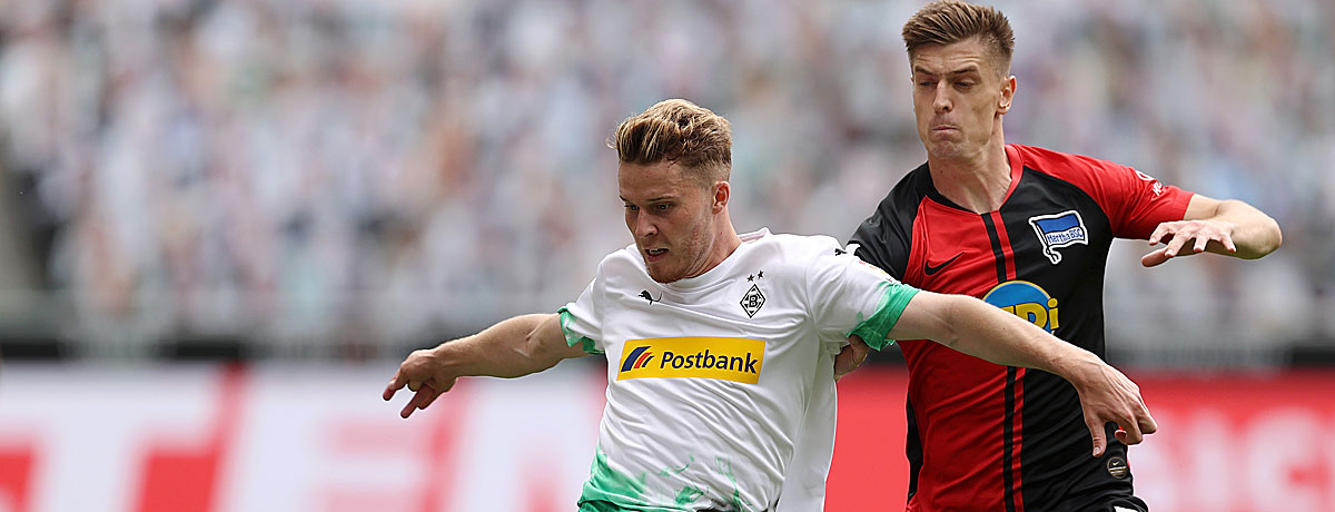 Gladbach - Hertha Bundesliga 2020/21