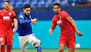 Schalke – FC Augsburg: Ein bisschen Statistik-Hoffnung für S04