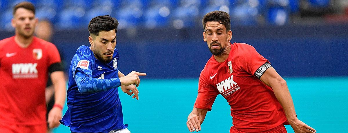 Schalke - FC Augsburg Bundesliga 2020/21