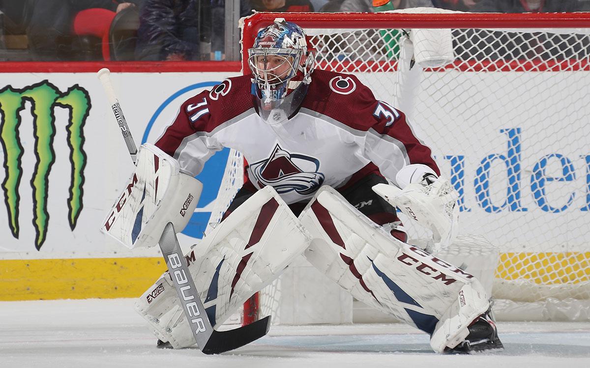 Gehört zu den besten Keepern der NHL - Philipp Grubauer