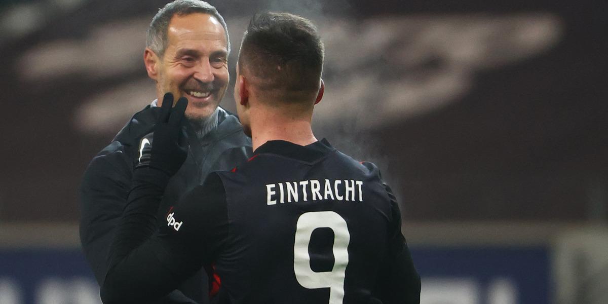 Luka Jovic Eintracht Frankfurt Schalke