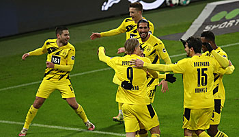Meisterschaft in der Bundesliga: BVB meldet sich zurück