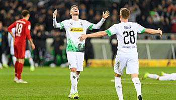Gladbach – FC Bayern: Fohlen daheim mit guter Siegchance