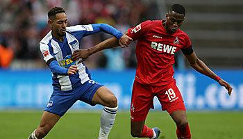Hertha BSC - 1. FC Köln: Big City Krimi im Abstiegskampf