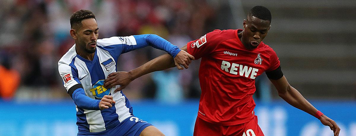 1. FC Köln - Hertha BSC Bundesliga 2020/21