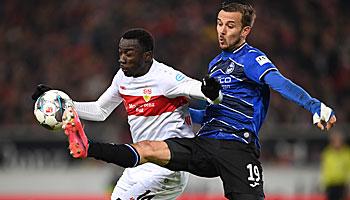 Arminia Bielefeld – VfB Stuttgart: Aufsteiger-Duell der Gegensätze