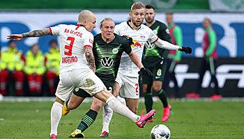 RB Leipzig - VfL Wolfsburg: Die beiden besten Defensivreihen der Liga im Duell