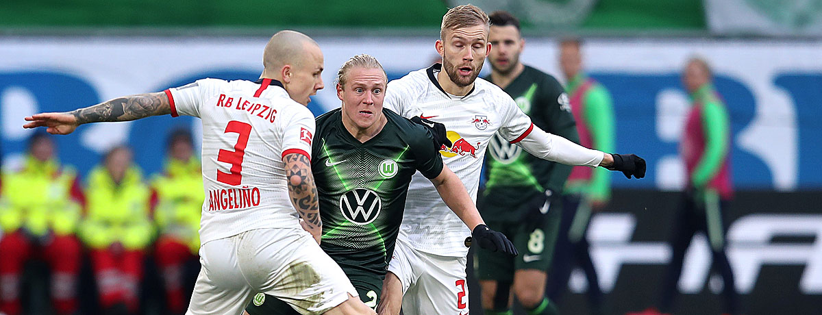 RB Leipzig - VfL Wolfsburg Bundesliga 2020/21