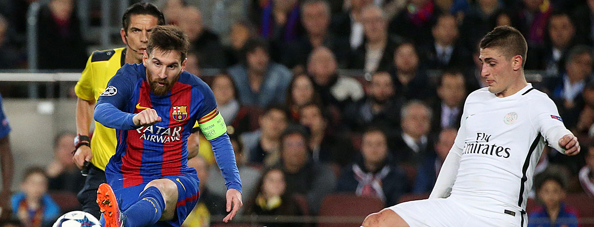 FC Barcelona - PSG Champions League