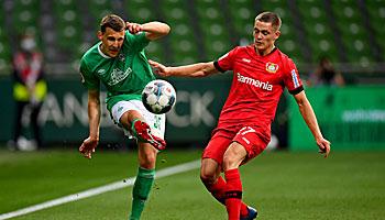Bayer Leverkusen – Werder Bremen: Keine Sieg-Garantie für die Werkself