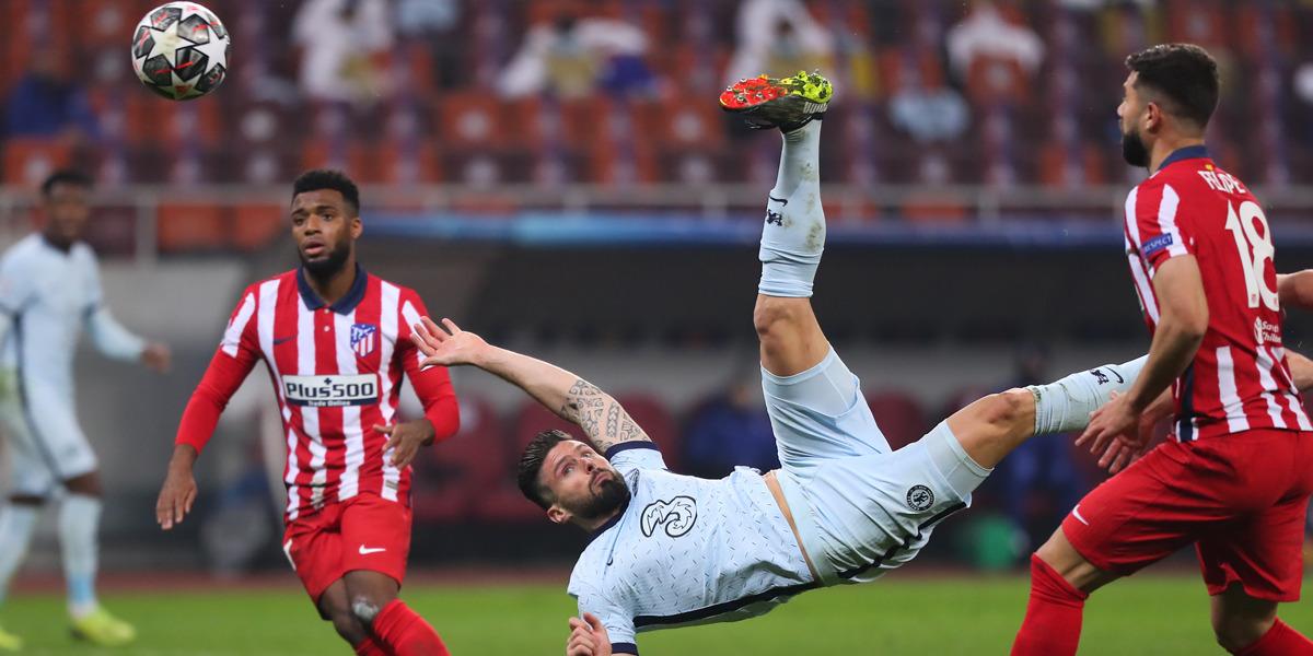 Olivier Giroud Tor Atletico Madrid