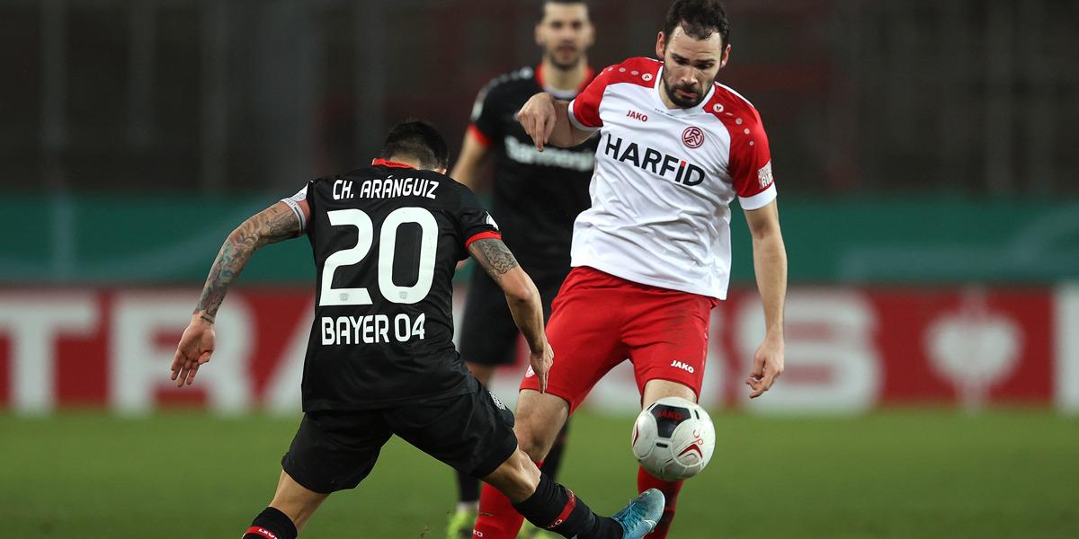 Rot-Weiss Essen DFB Pokal Simon Engelmann