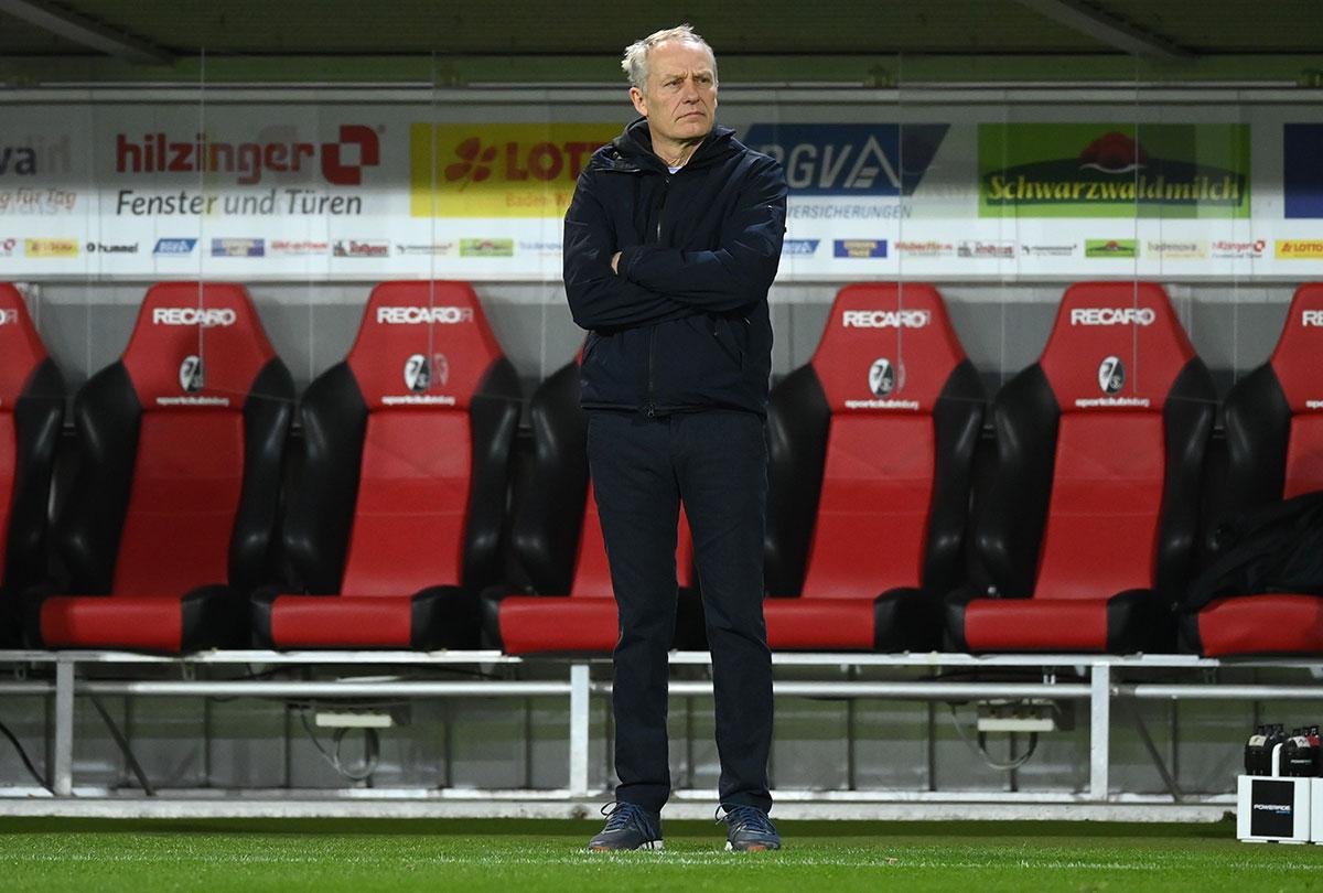 Der Macher des SC Freiburg - Trainer Christian Streich