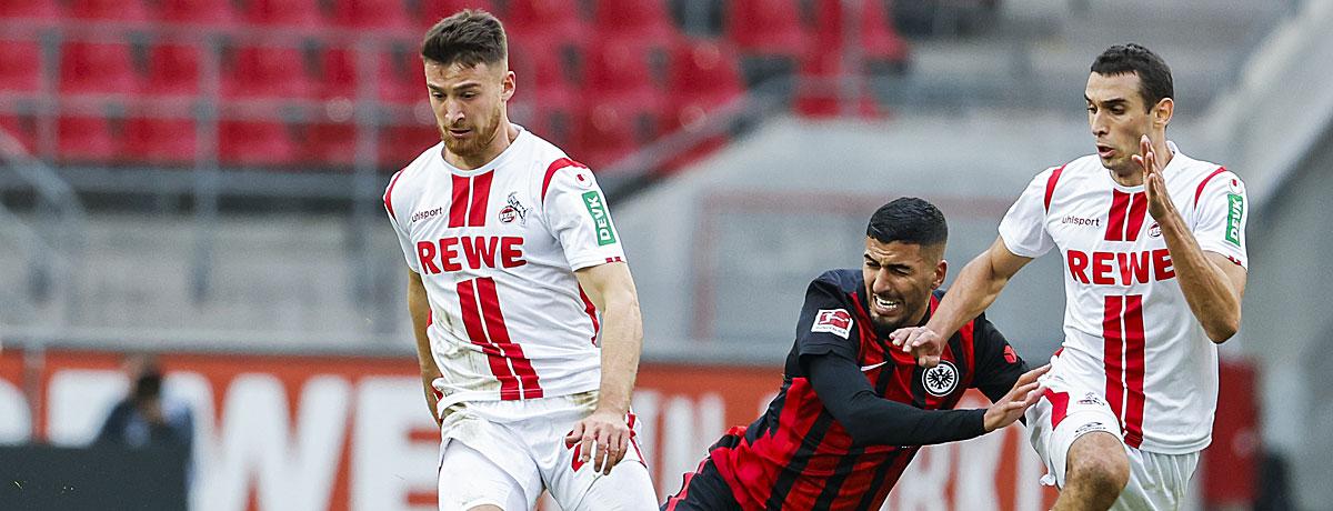Eintracht Frankfurt - 1. FC Köln Bundesliga 2020/21