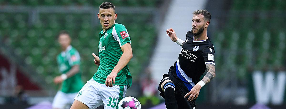 Arminia Bielefeld - Werder Bremen: Unentschieden ist unwahrscheinlich