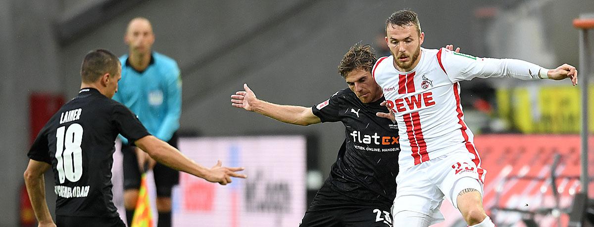 Gladbach - 1. FC Köln Bundesliga 2020/21