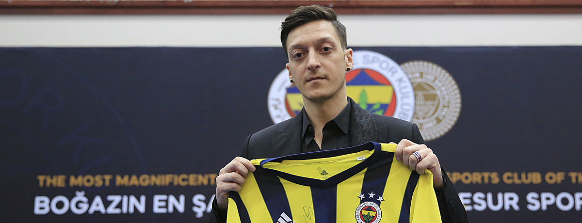 Mesut Özil Fenerbahce