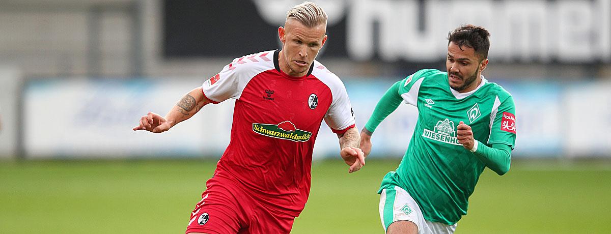 Werder Bremen - SC Freiburg Bundesliga 2020/21