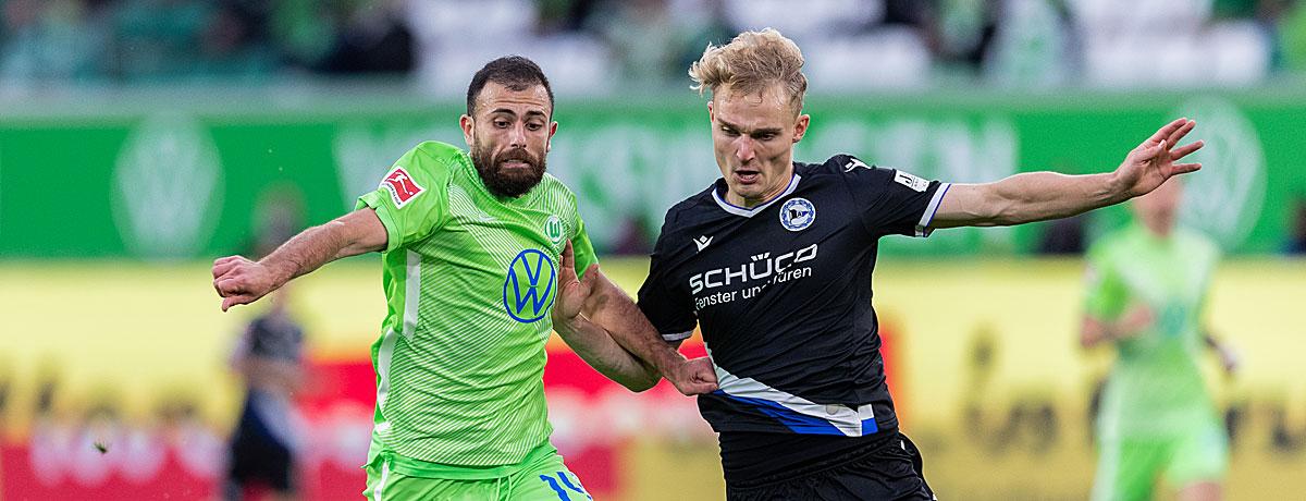 Arminia Bielefeld - VfL Wolfsburg Bundesliga 2020/21