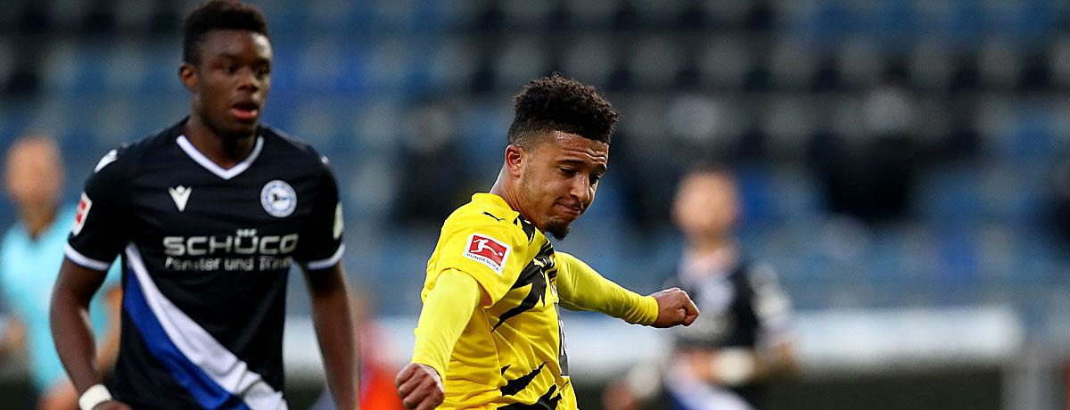 Jadon Sancho BVB Comeback
