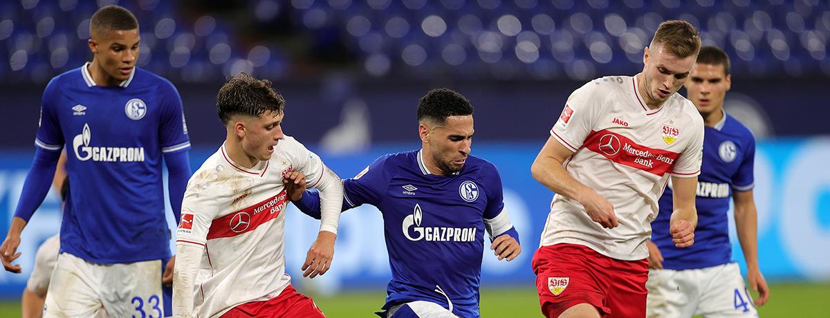 VfB Stuttgart - Schalke Bundesliga 2020/21