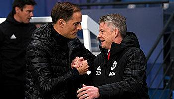 Chelsea - Manchester United: Bilanz zwischen Tuchel und Solskjaer ist ausgeglichen