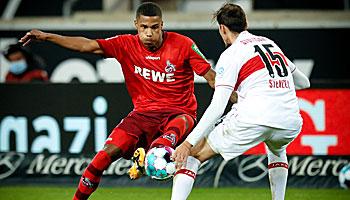 1. FC Köln – VfB Stuttgart: Gastgeber kämpfen gegen eine Durststrecke