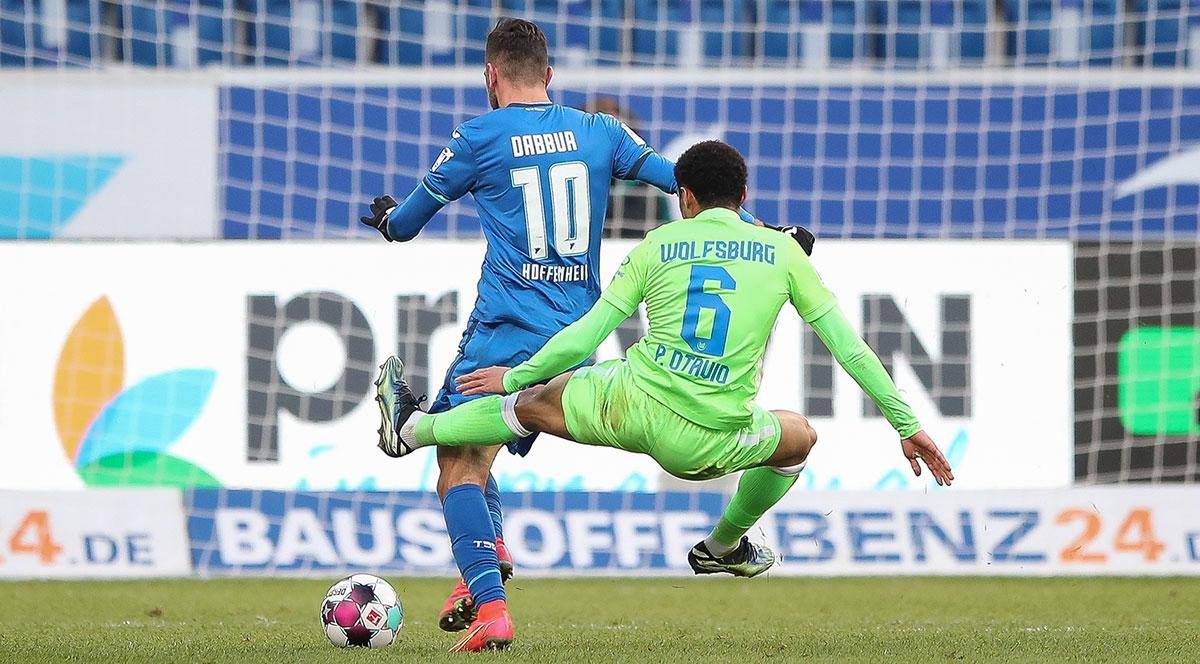 Fehlt dem VfL Wolfsburg nach seiner brutalen Grätsche gegen Hoffenheim in den nächsten Wochen - Paulo Otavio