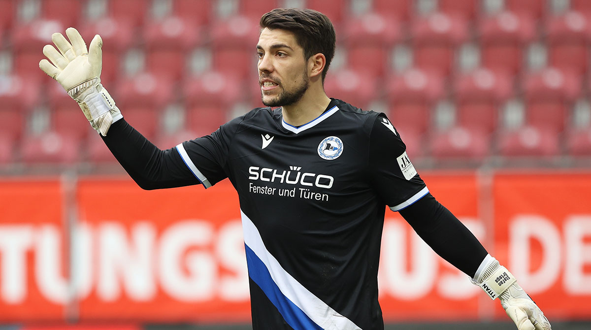 Kassierte in den letzten 3 Spielen kein Gegentor - Bielefelds Stefan Ortega Moreno