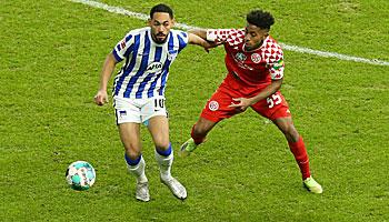 FSV Mainz 05 – Hertha BSC: Abstiegskrimi der Ungeschlagenen