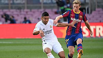 Real Madrid – FC Barcelona: Clasico ist wegweisend für den Titelkampf