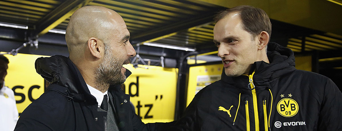 Pep Guardiola gegen Thomas Tuchel