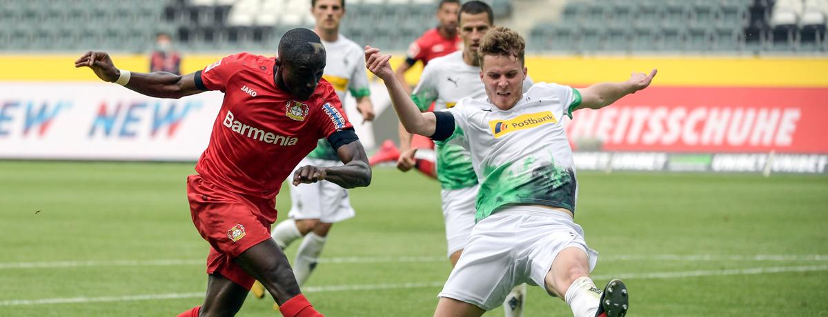 Gladbach - Bayer Leverkusen: Krisen-Teams unter sich