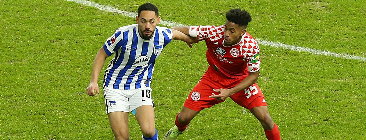 FSV Mainz 05 - Hertha BSC: Abstiegskrimi der Ungeschlagenen