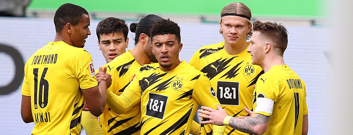 Bundesliga: Darum schafft der BVB die Champions-League-Qualifikation