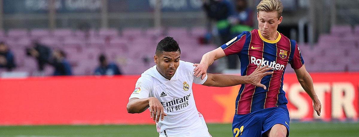 Real Madrid - FC Barcelona: Clasico ist wegweisend für den Titelkampf