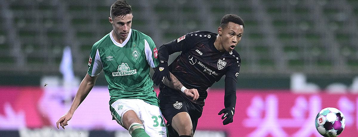 VfB Stuttgart - Werder Bremen: Ansetzung spricht für die Schwaben