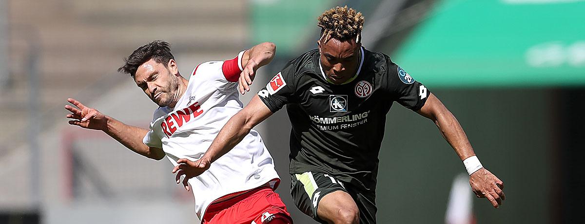 1. FC Köln - FSV Mainz 05: FC geht mit Mutmachern ins 6-Punkte-Spiel