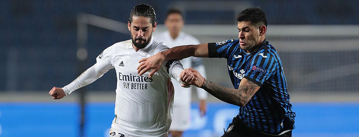 Real Madrid - Atalanta: Königlichen winkt erstmals wieder das Viertelfinale