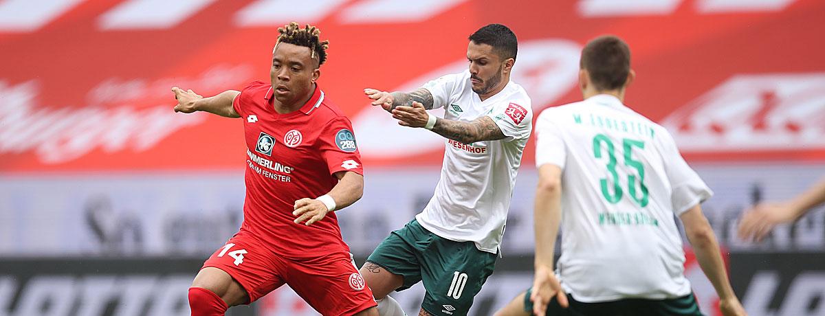 Werder Bremen - FSV Mainz 05: Die Statistik spricht für die Gäste